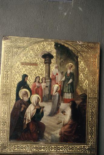 icône : Présentation de la Mère de Dieu au Temple
