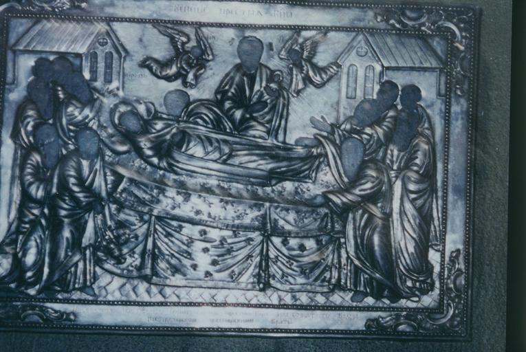 Icône de la Dormition de la Très Sainte Mère de Dieu