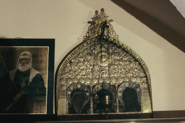 icône : La Déésis : le Christ Sauveur, la Mère de Dieu et saint Jean-Baptiste