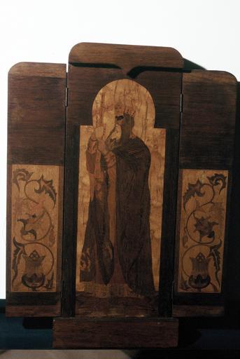 triptyque pliant : saint Vladimir, prince, égal aux apôtres