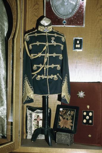 Souvenirs du Tsar Alexandre II : veste provenant d'un uniforme porté par le tsar