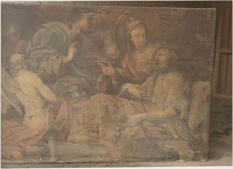 Tableau : la Mort de saint Joseph, vue générale