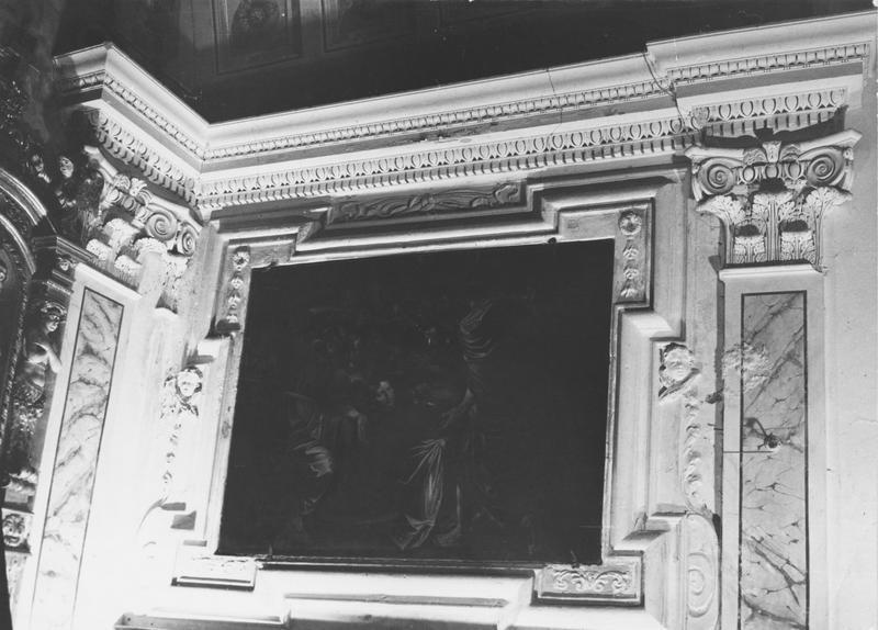 7 tableaux et leurs cadres : Scènes de la Passion du Christ