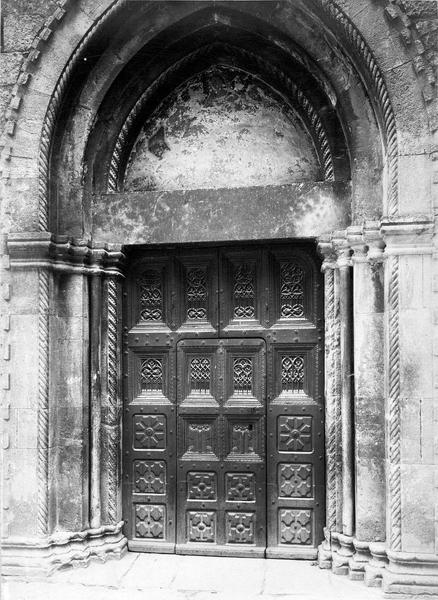 vantaux du portail méridional, vue générale