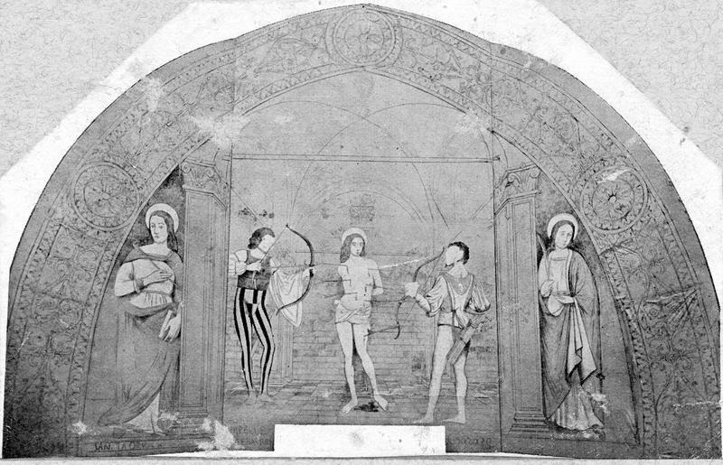 peintures monumentales, vue générale