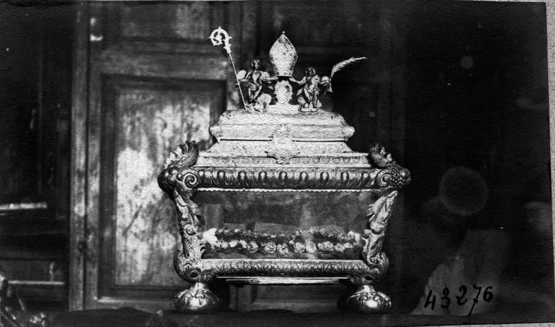 reliquaire de saint Bassus, vue générale