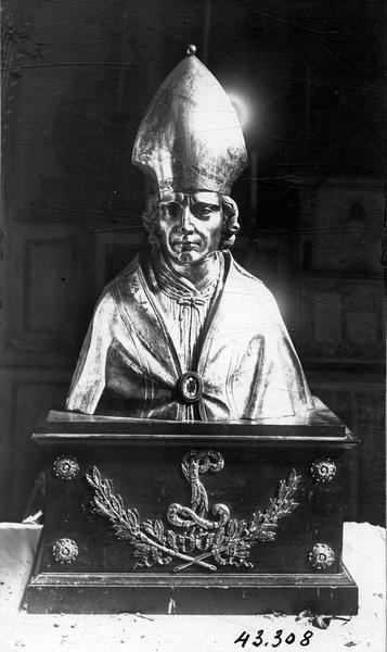 Buste-reliquaire : Saint Véran