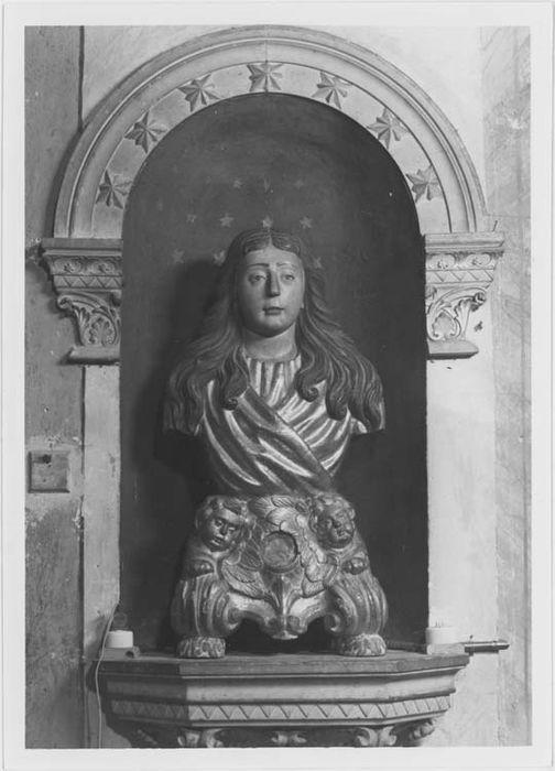 buste-reliquaire de sainte Marie-Madeleine, vue générale