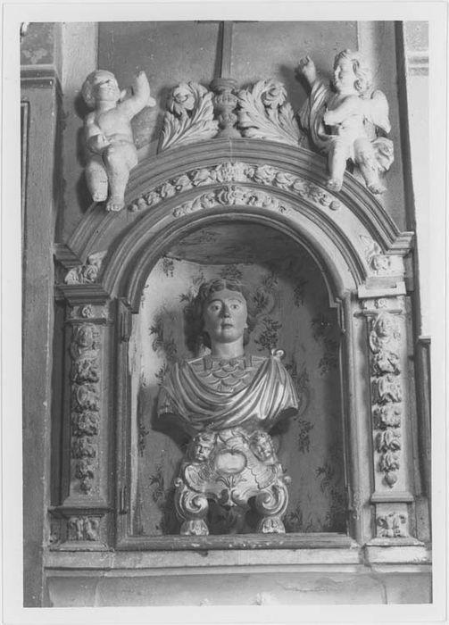 Buste-reliquaire de saint Patient