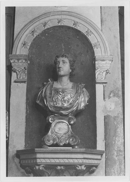 Buste-reliquaire de saint Julien