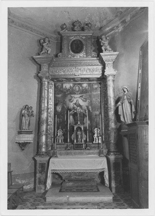 Retable et autel de Notre-Dame-du-Rosaire