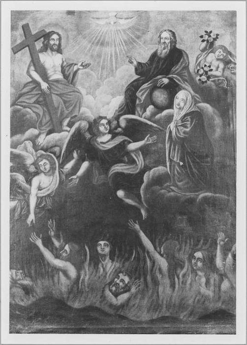 Tableau : les âmes du Purgatoire