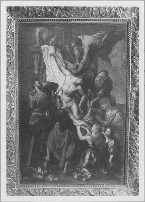 Tableau : la Descente de Croix