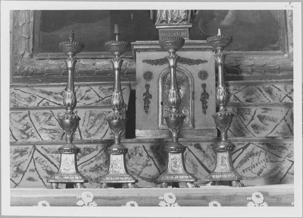 Ensemble de 4 chandeliers