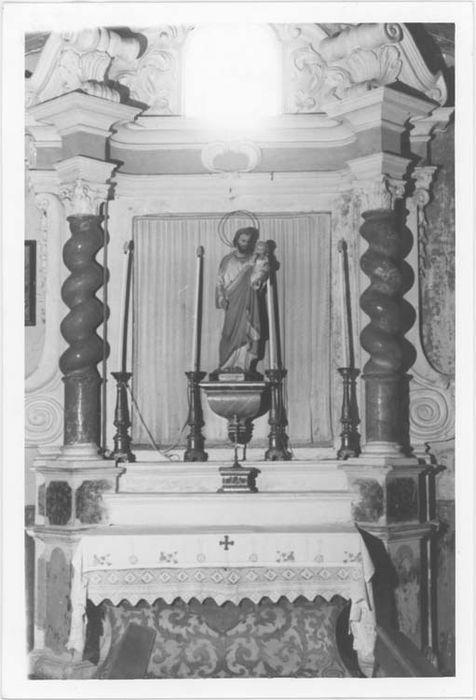 Autel et retable dits de saint Joseph