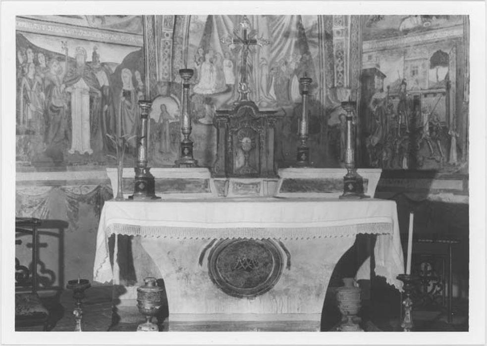 maître-autel et tabernacle, vue générale