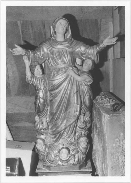 Statue de procession : Vierge en gloire