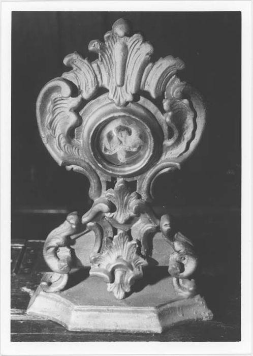 Reliquaire d'une vertèbre de saint Grat