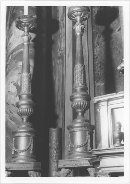 Ensemble de 6 chandeliers
