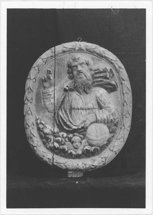 Bas-relief : Le Père Eternel