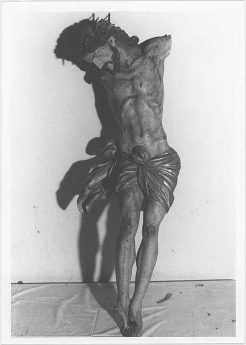 Statuette : élément de Christ en croix