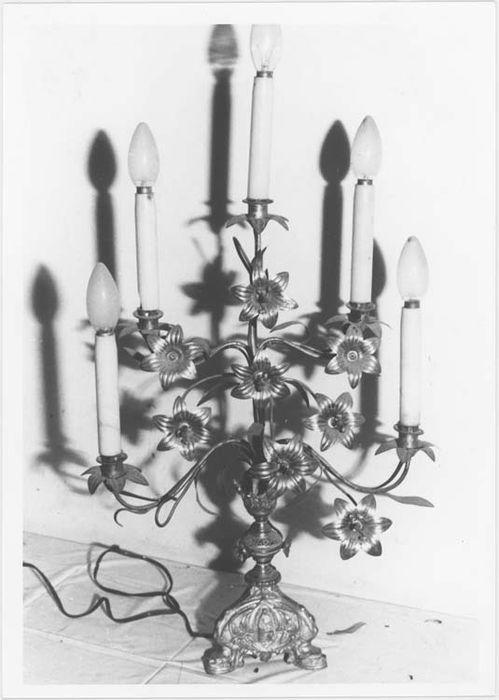 Paire de chandeliers à branches n°3