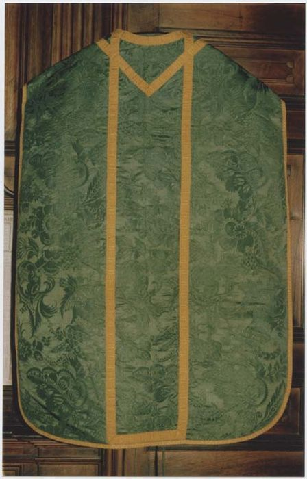 Chasuble (ornement vert)
