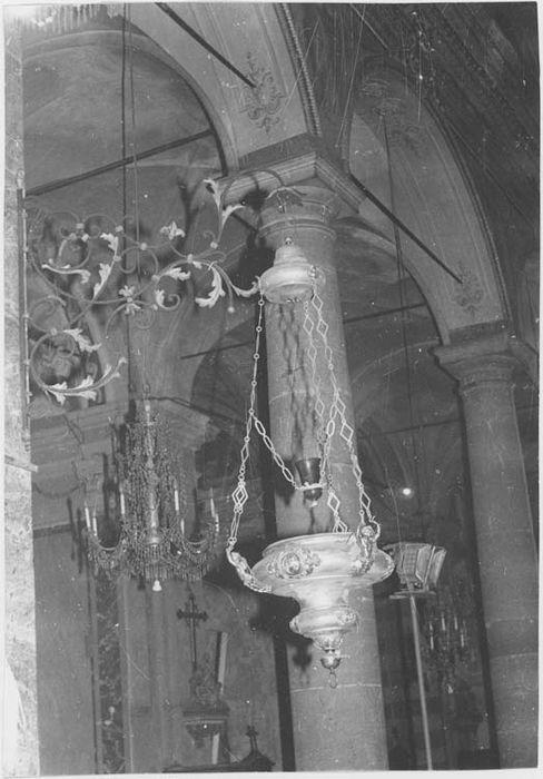 lampe de sanctuaire, vue générale