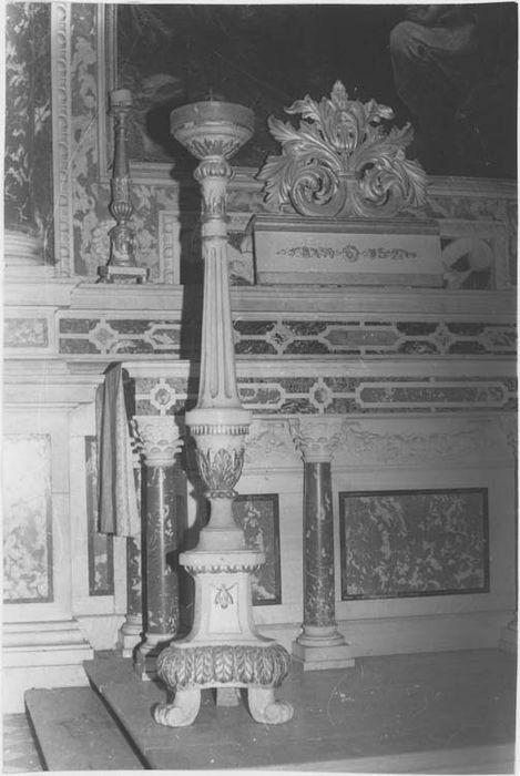 chandelier de choeur, vue générale