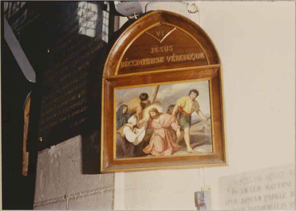 chemin de croix, détail d'une des stations