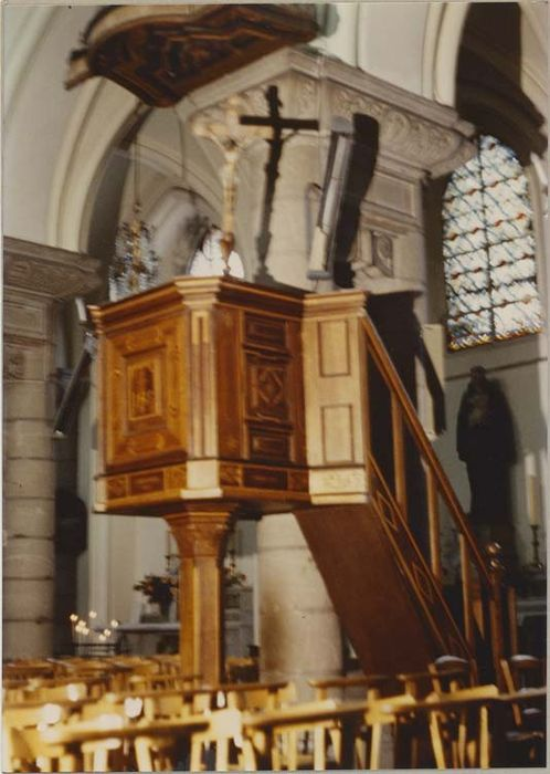 chaire à prêcher, vue générale