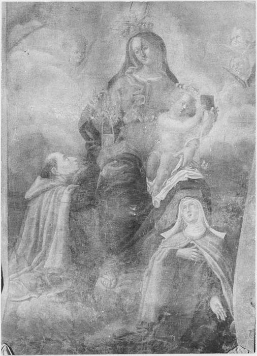 élément de bannière de procession : Notre-Dame du Mont Carmel, vue générale