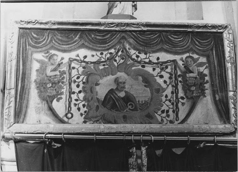 antependium : saint Pierre, vue générale