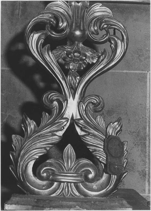 chandelier d'autel, vue générale
