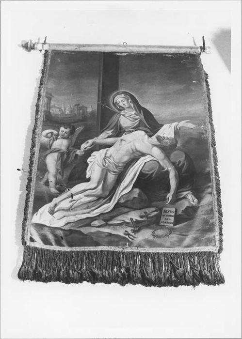 Bannière de procession de la confrérie de Notre-Dame-des-Douleurs