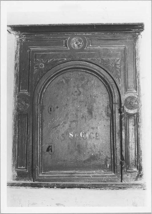 armoire aux saintes huiles, vue générale