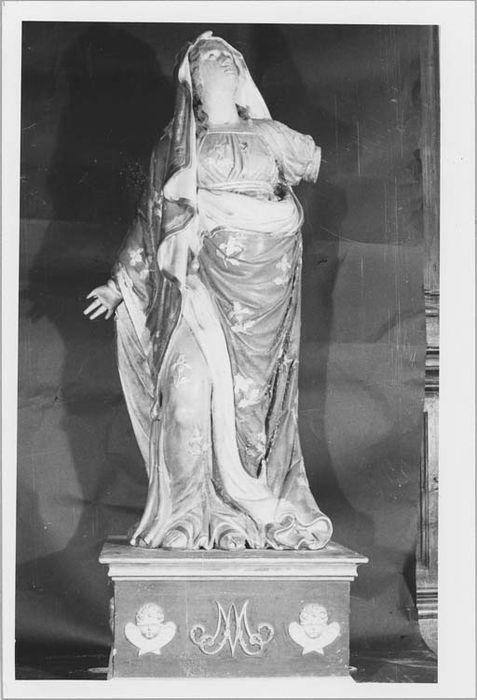 Statue de procession : Vierge de douleurs