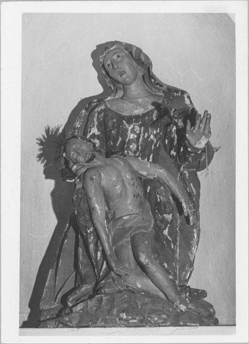 Statue (petite nature) : Pietà