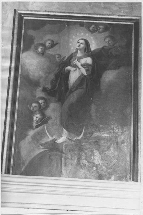 Tableau : l'Immaculée Conception