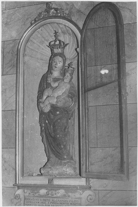Statue (petite nature) : Vierge à l'Enfant n°1