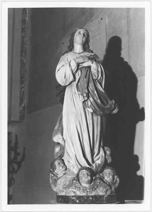Statue (petite nature) : l'Immaculée Conception
