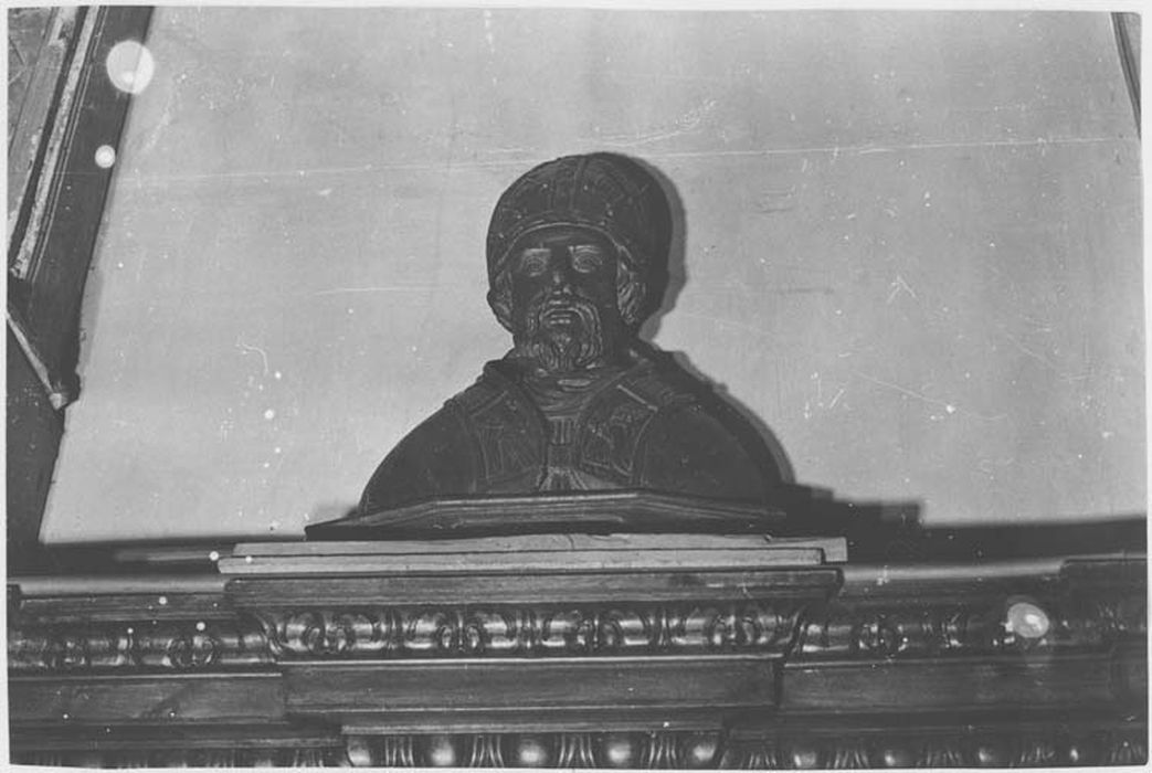 2 bustes-reliquaires : saint Bassus et saint Siagne