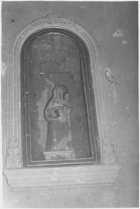 Statue (petite nature) : Vierge à l'Enfant n°2