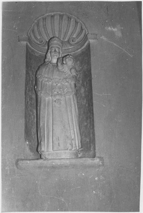 Statue (petite nature) : Vierge à l'Enfant n°3