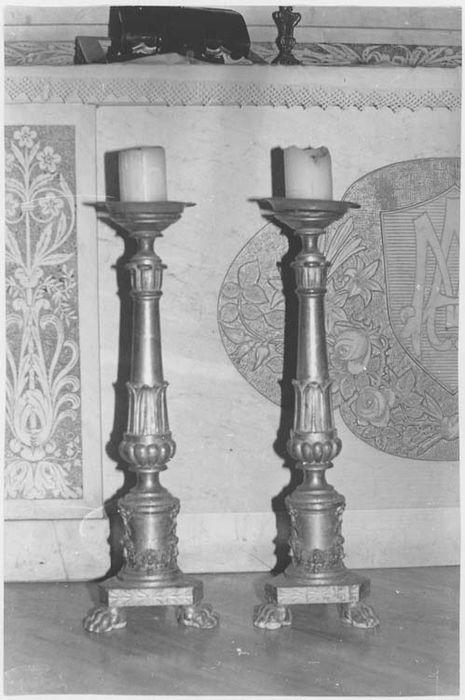 chandeliers (paire), vue générale