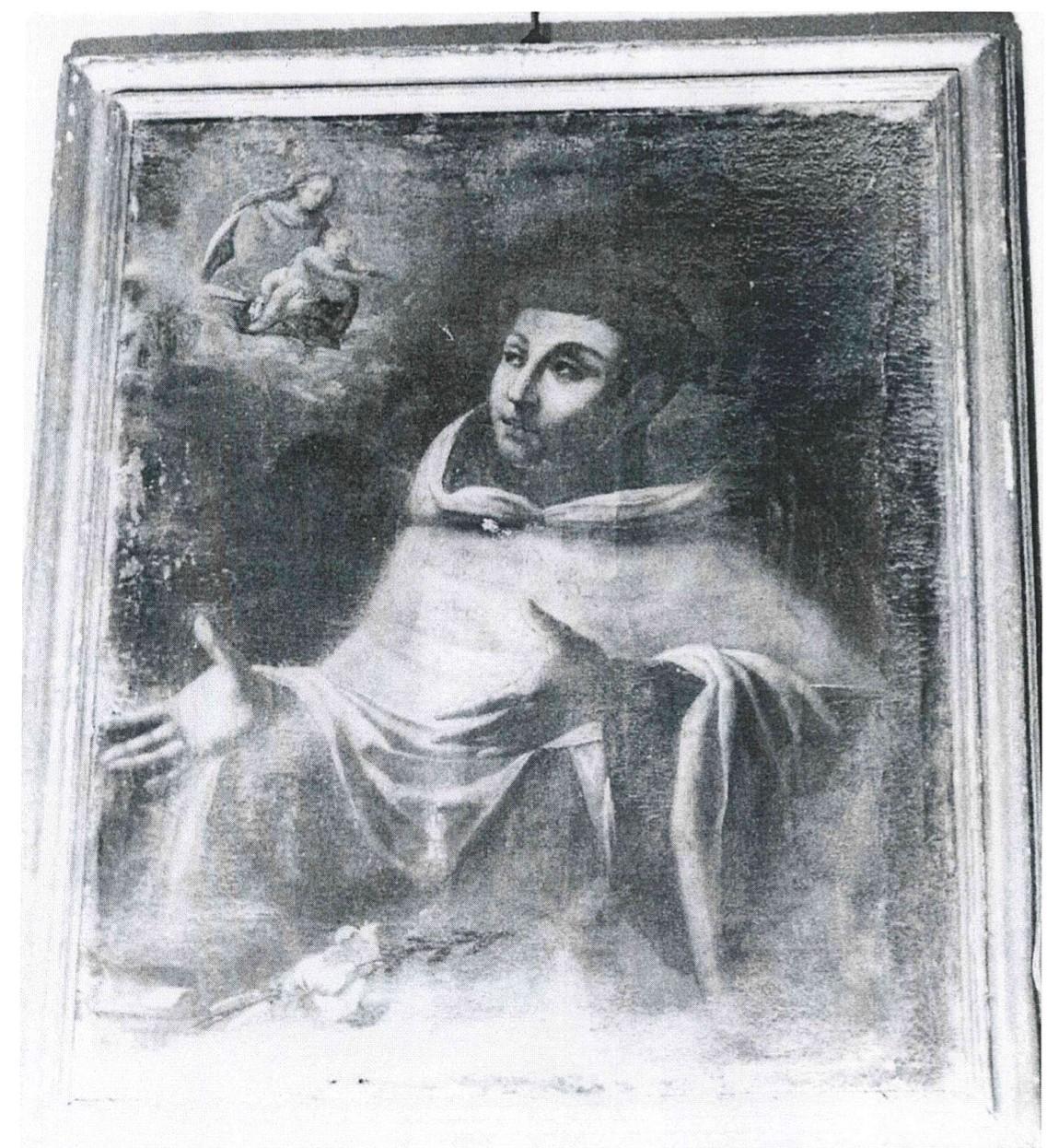 Tableau : Apparition de la Vierge à saint Antoine de Padoue