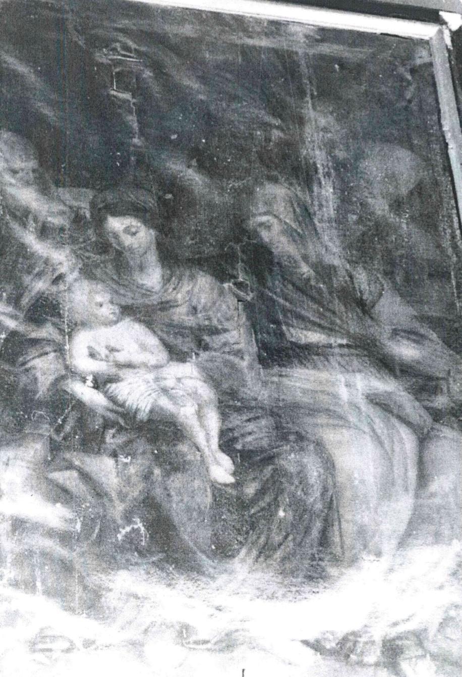 Tableau : Sainte Parenté (ou Sainte Famille avec sainte Anne et saint Joachim)