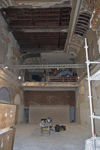 Vue d'ensemble de la chapelle, vers le côté est.