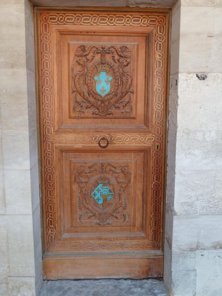 Porte de la chapelle du château d'Anet