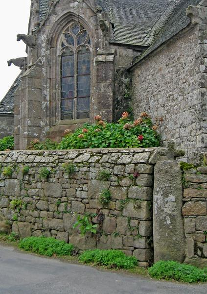 Mur de clôture en granite